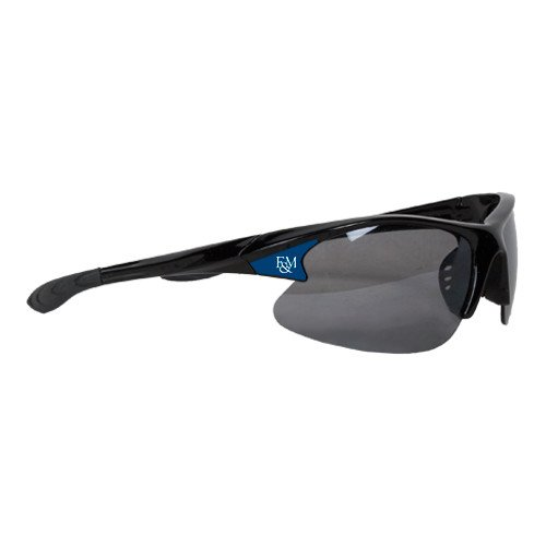 Franklin & Marshall Mens Black Sporty Sunglasses 'Diplomats Official Logo' by CollegeFanGear