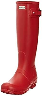 Hunter Women's Original Rubber Boots EUR 39 Red