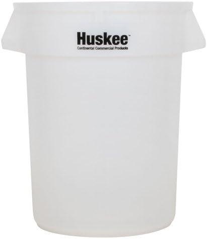 Continental Huskee 32ガロン 透明ゴミ箱