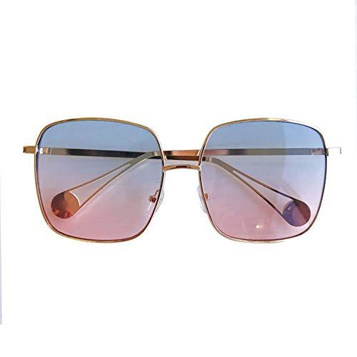rétro soleil de soleil mince Personnalité de lunettes carrées grand simples photo mode cadre lunettes NIFG lunettes qSIw5Aw