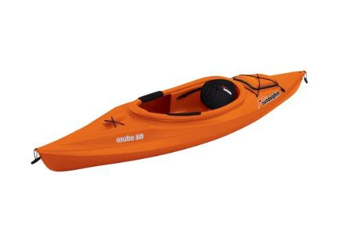 Sun Dolphin Aruba Sit-in Kayak (Tangerine, 10-Feet)