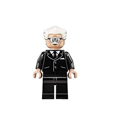 LEGO Super Heroes Classic TV Series Batman Minifigure - Alfred The Butler (76052): Toys & Games