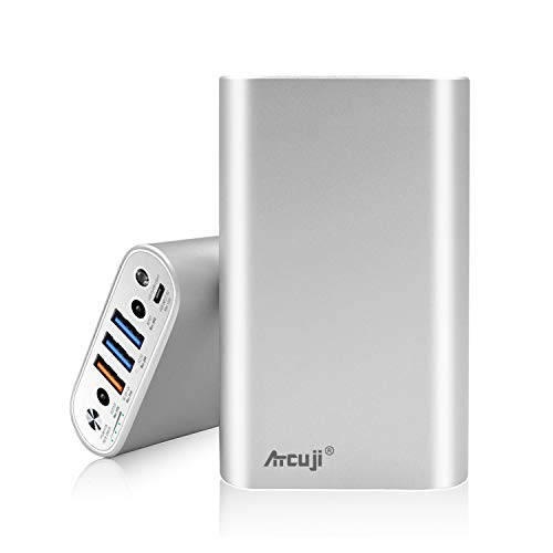 Atcuji 98MP 26800mAh Power Bank 130W Power Delivery for MacBook Pro External Battery MacBook Air Portable Charger Apple iPhone iPad Pro Huawei Samsung Galaxy Google Xiaomi LG and More -(TSA-Approved) best to buy