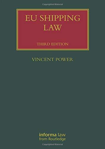 EU Shipping Law  Lloyd's Shipping Law Library