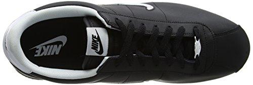 Nike 002 Cortez Homme Sneakers Jewel Basses White Basic Black Noir FTqFAa