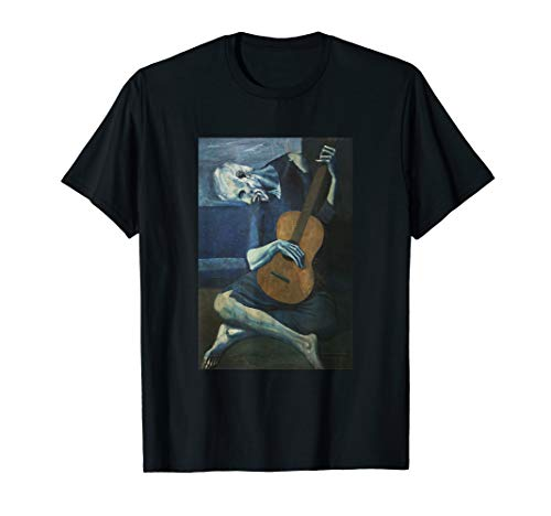 Old Guitarist T Shirt - Painting by Pablo Picasso
