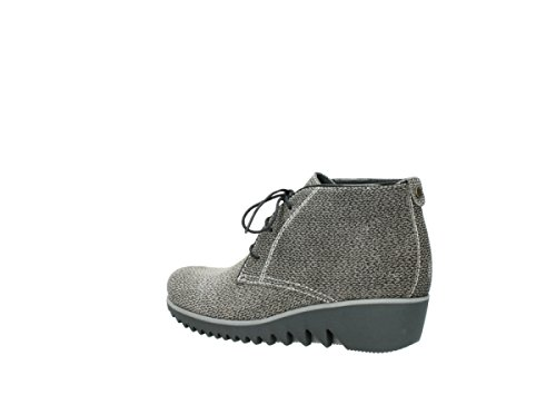 up Wolky Comfort Printed Lace Taupe Suede Winter 40150 Dusky Boots B7w7pq