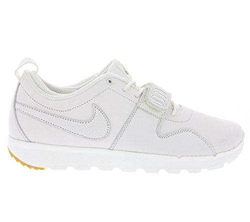 Nike Trainerendor Mens Scarpe Da Skateboard Blanco / Dorado / Marrón (smmt Wht / Smmt Wht-gm Lght Brwn