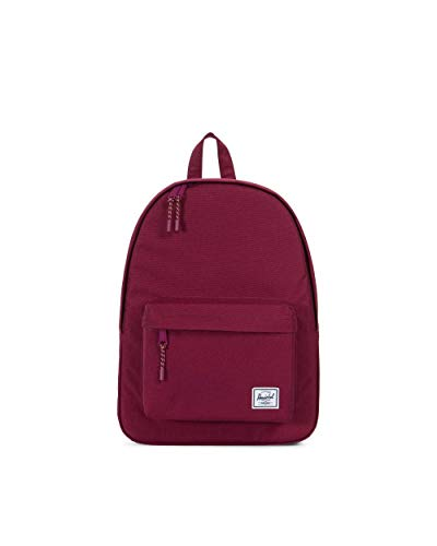Tailored Backpack - Herschel Classic Backpack, Windsor Wine, One Size