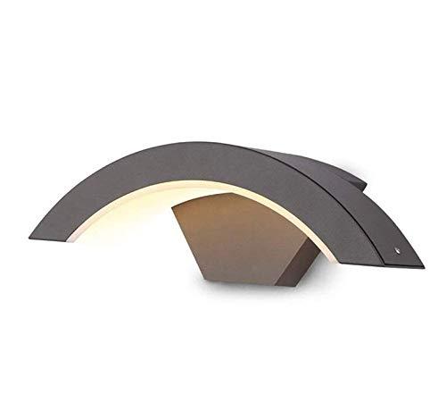 Chandeliermodern Wandleuchte Lichtfarbe Warmweiß 2800K Leistung 12 Watt und 840 Lm Lichtstrom Außenleuchte Wandklasse Schutzklasse