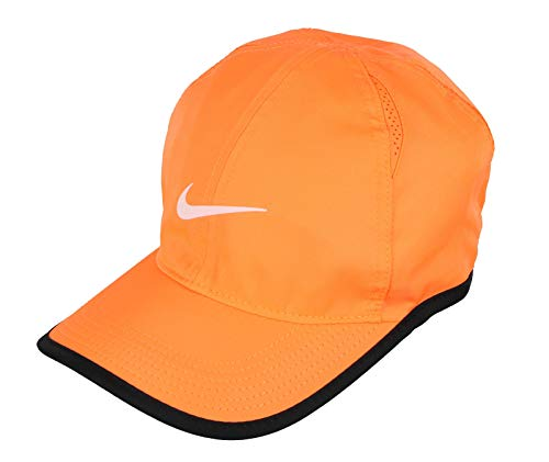 16ca4232caf850 Nike Feather Light Tennis Hat (Tart/Black/Black/White, One Size)
