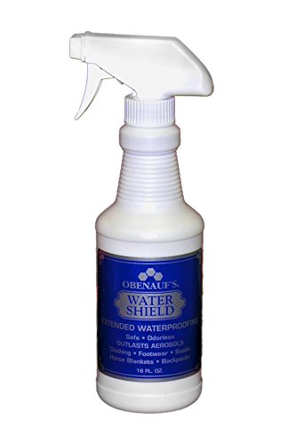 Obenauf's Silicone Water Shield - Environmentally Safe - 16oz. Trigger Spray - Made in the US - Leather Cpr Leather Boot