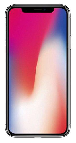 Case Cover per Apple iPhone X con integrata protezione / protezione dello schermo, nero, pelle sintetica | Custodia Universale Portafoglio Portafoglio copertura di vibrazione della cassa del raccoglit