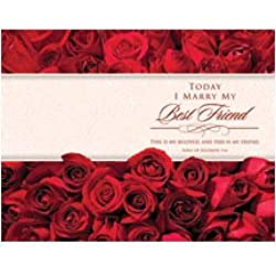 Standard Bulletin 11 - Wedding - Today I Marry My Best Friend... (Pack of 100)