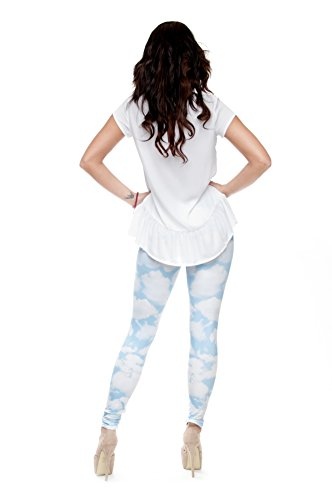 Yombre - Leggings - para mujer Cloudy Day