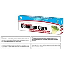 The Complete Common Core State Standards Kit for Math Pocket Chart Cards, Gr 8 by Carson-Dellosa