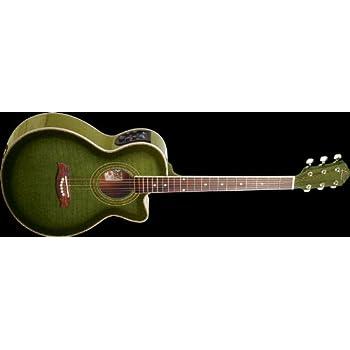 oscar schmidt by washburn og10ce full size cutaway acoustic electric guitar. Black Bedroom Furniture Sets. Home Design Ideas