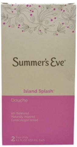 - Summer's Eve - Douche Island Splash Cleanser (2 x 4.5 oz.) 1 pcs sku# 1900068MA