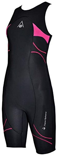 Aqua Sphere Energize Triathlon Speedsuit Female Black/Pink - Triathlon Speed Suits