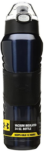 Under Armour Dominate 24 Ounce Vacuum Insulated Bottle, Indigo