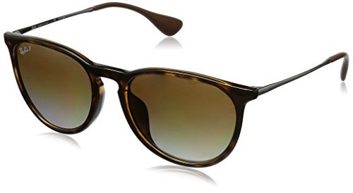 Ray-Ban Men's Full Fit Round Sunglasses, Light Havana/Polar Brown, One - Round Light Ray Ray Bans