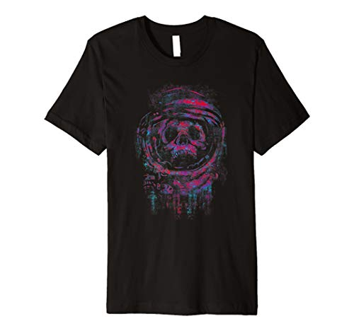 Astro Skull Horror Astronaut Dead In Space T Shirt ()