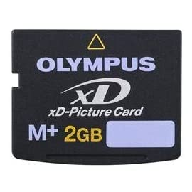 NEW 2gb Xd Picture Memory Card Type M+ for Olympus & Fuji Cameras 5 Brand new Olympus M+ xd memory card in plastic mini case.