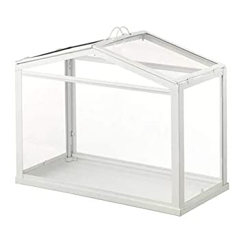 Ikea SOCKER - Invernadero (45 x 35 x 22 cm), color blanco