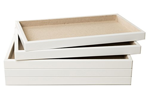 Hives and Honey Stackable Jewelry Organizer Trays Set of 5 F