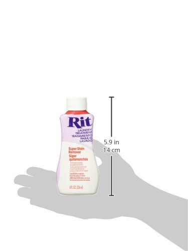 Rit Dye Liquid Fabric Dye, 8-Ounce,  Super Stain Remover