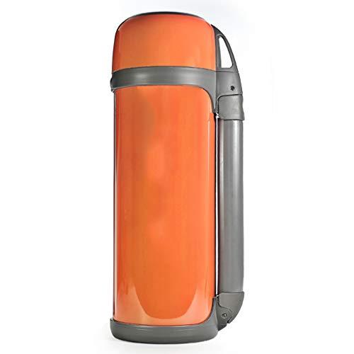 WLHW Trinkflaschen Thermoskannen, Große Kapazität Edelstahl Vakuum Vakuum Reise Thermos 1.8L Z6