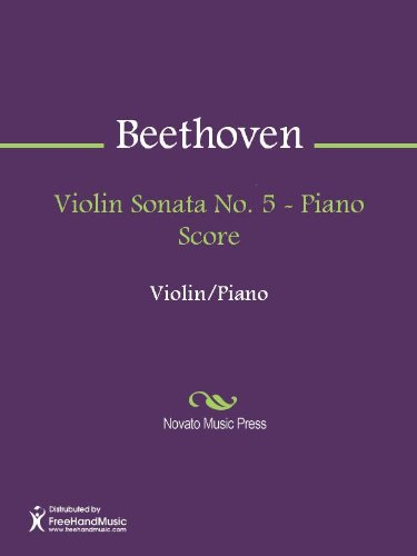 - Violin Sonata No. 5 - Piano Score
