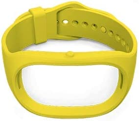 Healbe Yellow Replacement Band Compatible for Healbe GoBe2, Newest Adjustable Sport Strap Smartwatch Wellness Fitness Tracker Wristbands