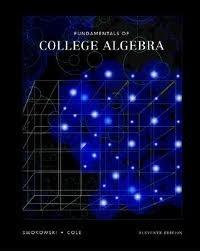 Swokowski's Fundamentals of College Algebra