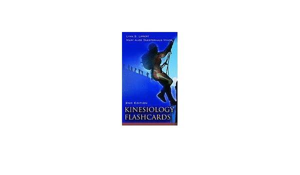 Kinesiology Flash Cards 2ed Pb Lippert L S 9780803615885