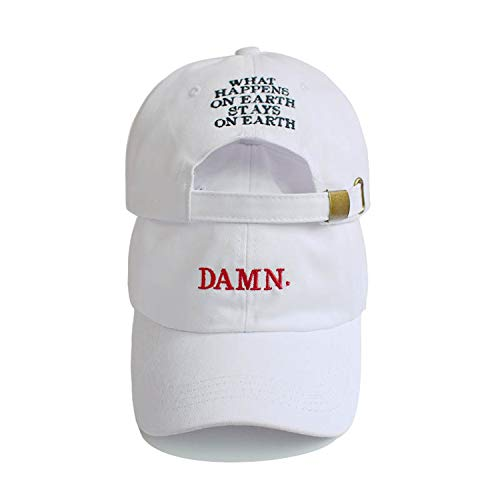 Embroidered Earth Hip Hop Cap Kendrick Lamar Rapper Snapback Hats Baseball Cap -