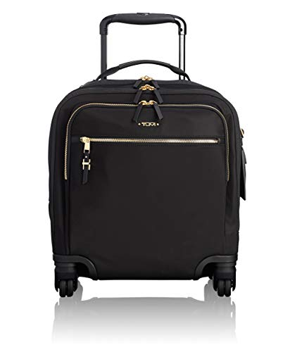 TUMI - Voyageur Osona Compact Wheeled Carry-On Luggage - 16 Inch Rolling Suitcase for Women - Black