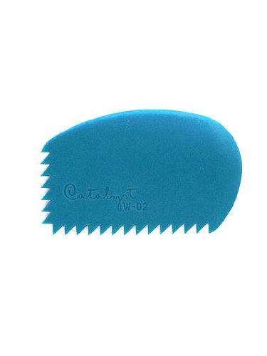 Princeton Catalyst Silicone Tools wedge no. 2 blue [PACK OF 2 ] by Princeton