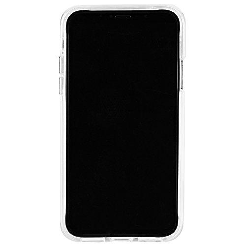 Case-mate protecteur élégant Design fin moelleuse coins une meilleure prise en main Boutons Métalliques Coque rigide pour iPhone 8–Ultra clair