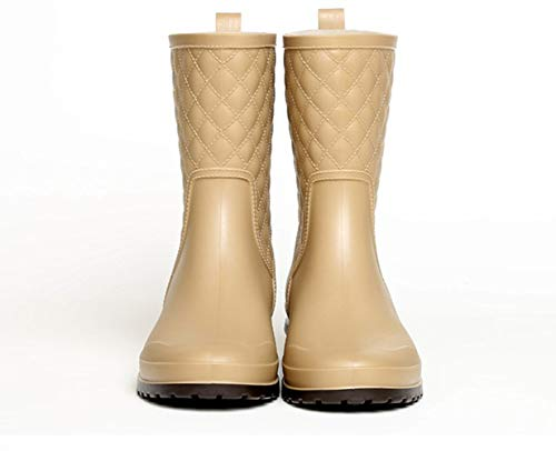 Blu Nero Stivaletti 36 Lavoro Stivali 41 Donna Giardino Boots Wellington Bassi Gomma Cachi Antiscivolo Pioggia vWa7gf