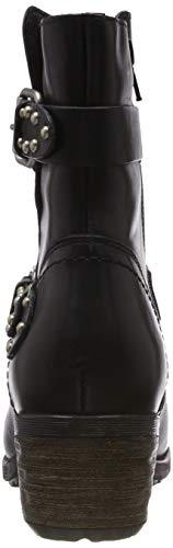 Botines Noir Natural Be 001 Black 25410 21 Femme 6xwZZTO