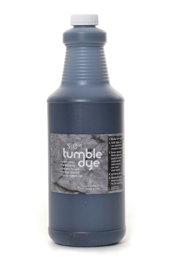Sew Easy Industries Tumble-Dye Bottle, 1-Quart, Charcoal by Sew Easy Industries