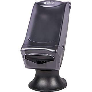 """San Jamar H5005S Venue Fullfold Control Napkin Dispenser with Stand, 500 Capacity, 8"""" Width x 17-1/2"""" Height x 13"""" Depth, Clear"""