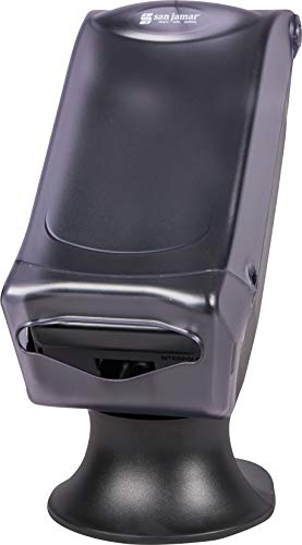 San Jamar H5005S Venue Fullfold Control Napkin Dispenser with Stand, 500 Capacity, 8