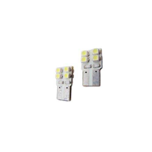 Elite Mailers T10 168 194 5050 8-SMD LED Light Bulb - Blue - 2 pieces ()