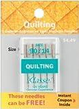 Bulk Buy: Klasse Quilting Machine Needles 90/14 5/Pkg A5106-9014 (5-Pack)