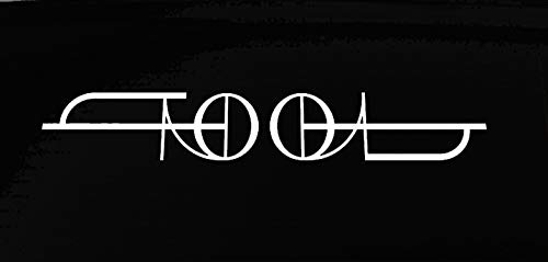 Tool NOK Decal Vinyl Sticker |Cars Trucks Vans Walls Laptop|White|7.5 x 1.25 in|NOK276