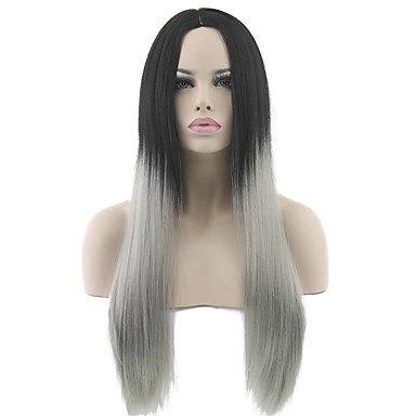 Ryu @ peluca del disfraz pelucas para le Mujeres Gris Disfraces ...
