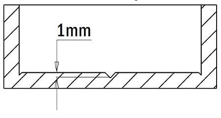 Right-Hand Rotation Diameter 30mm CMT 369.300.11 Hinge Boring Bit 10X26 Shank 1-3//16-Inch