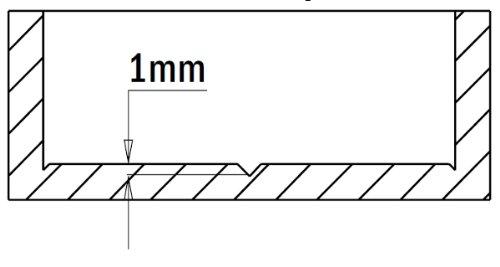 1-37//64-Zoll CMT 317.400.12 Scharnierbohrer Linkslauf 10x26mm Schaft 40mm Durchmesser